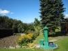 Brunnen mit Garten