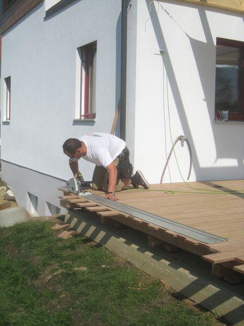 verlegen terrasse tag 2 ludersdorf altenberg. Black Bedroom Furniture Sets. Home Design Ideas