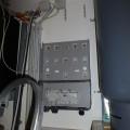 Hier wird der Wechselrichter montiert